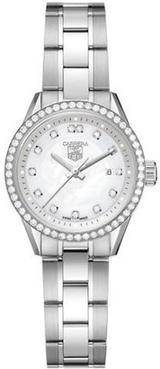 Tag Heuer Ladies' Formula 1 Diamond Bezel and Silver Dial Watch