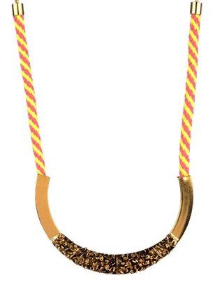 Yochi Design Yochi Rope Collar Necklace