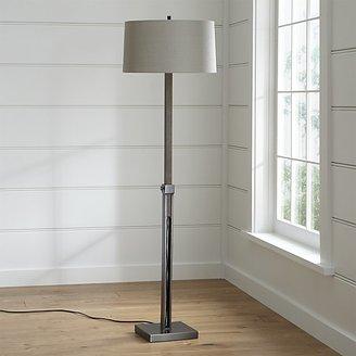 Crate & Barrel Denley Bronze Floor Lamp