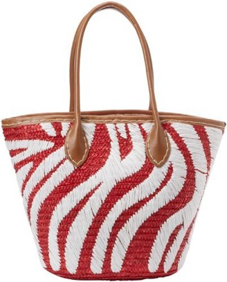 Magid Tribal Milan Straw Tote