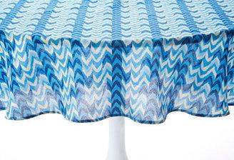 Tablecloth 60x84, Blue Ikat
