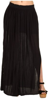 Kenneth Cole New York - Solid Maxi Skirt (Black) - Apparel