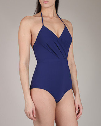 Zimmermann One Pieces Cross Front Swimsuit