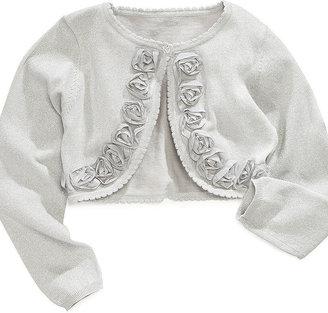 Bonnie Jean Kids Sweater, Little Girls Metallic-Knit Cardigan