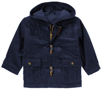 Gymboree Corduroy Toggle Hooded Jacket