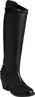 Haider Ackermann Lace-Up Back Knee Boot