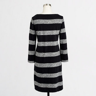 J.Crew Factory Factory stripe boatneck dress