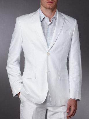 Perry Ellis Big and Tall Herringbone Suit Jacket