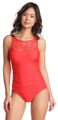 Athena Women's Monaco High Neck Faux Tankini