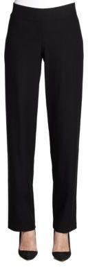 Eileen Fisher Stretch Straight-Leg Pants $168 thestylecure.com