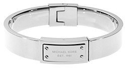 Michael Kors Silvertone Hinge Bangle