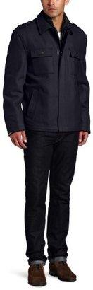 Michael Kors Men's Brentwood Newsboy Coat