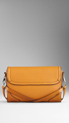 Burberry Small Grainy Leather Crossbody Bag