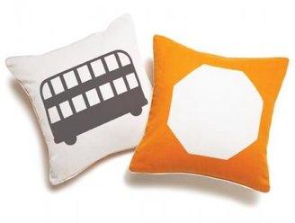 Boodalee City Throw Pillow