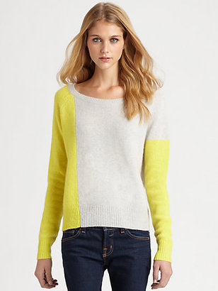 Peri 360 Sweater Cashmere Colorblock Sweater