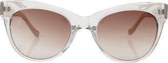 The Row Clear Cat Eye Sunglasses