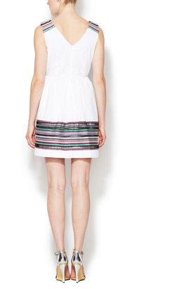Shoshanna Chase Embroidery Dress