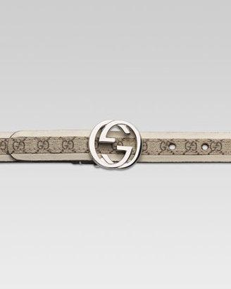 Gucci G Buckle GG Belt