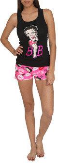 Betty Boop WetSeal Short Set Black