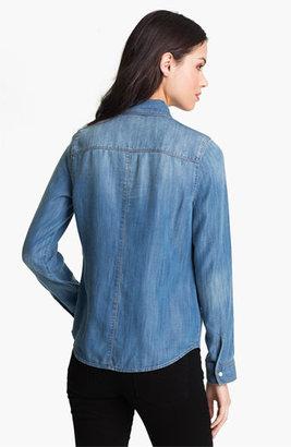 Trouve Trouvé Flap Pocket Denim Shirt