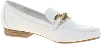 River Island White Chain Front Loafers