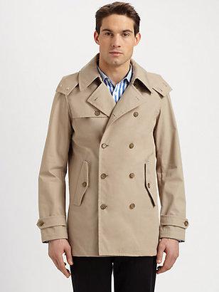 Michael Kors Hooded Trenchcoat