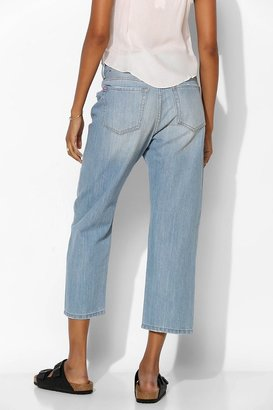 BDG Classic Crop Straight-Leg Jean - Light Indigo Fade
