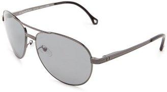Ermenegildo Zegna Sunglasses SZ3282-568P Aviator Polarized Sunglasses