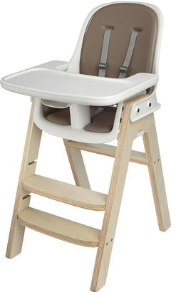 OXO Tot Sprout High Chair- Taupe/Birch