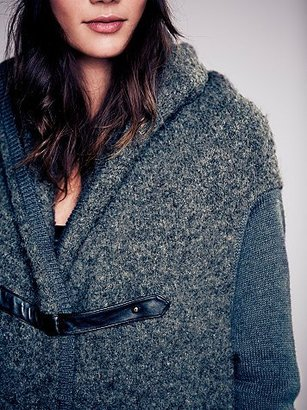 Nicholas K Drapey Wool Sweater Coat