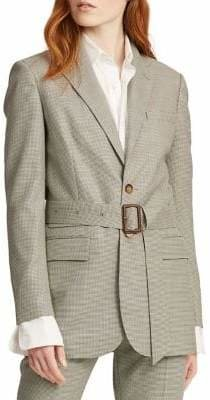 Polo Ralph Lauren Belted Wool Blazer