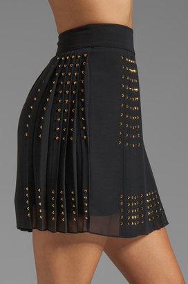 Diane von Furstenberg Arielle Hot Fix Check Skirt
