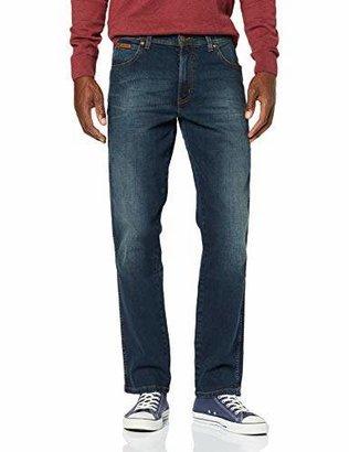 Wrangler Men's Texas Contrast'' Jeans, Blue ()