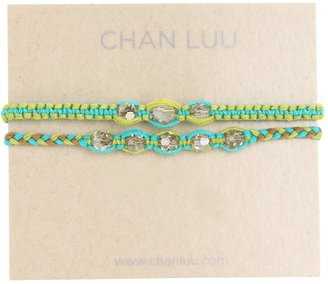 Chan Luu 2 Pack Friendship Crystal Bracelet New Turquoise Mix (New Turquoise Mix) - Jewelry