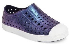 Infant Girl's Native Shoes 'Jefferson' Iridescent Slip-On Sneaker $42 thestylecure.com