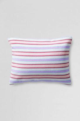 Lands' End 12 x 16 Baby Stripe Microfleece Decorative Pillow Cover