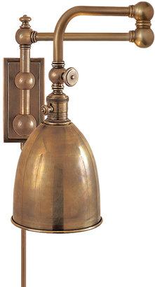 E.F. Chapman PIMLICO DOUBLE SWING ARM WALL LAMP