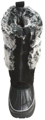 Khombu Arctic Zip Winter Boots - Waterproof, Plush Faux-Fur Lining (For Women)