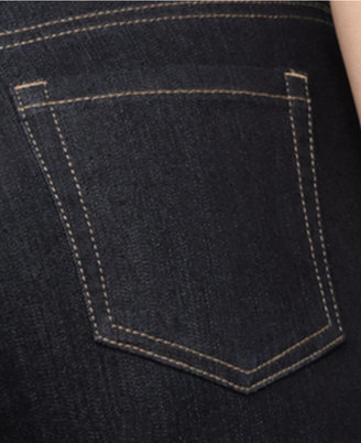 Style&Co. Style & Co Petite Tummy-Control Straight-Leg Jeans, Only at Macy's