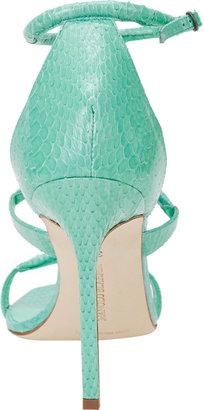 Manolo Blahnik Bombita Rolled-Strap Sandals