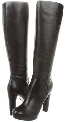 MICHAEL Michael Kors Lesly Knee Boot (Black) - Footwear