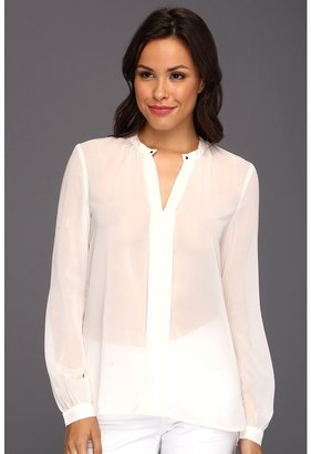 Kenneth Cole New York - Catalina Tux Top w/ Studs (Ivory) - Apparel