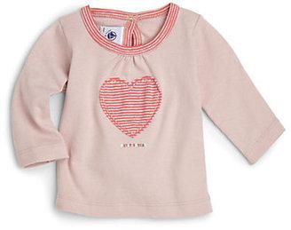 Petit Bateau Infant's Heart Top