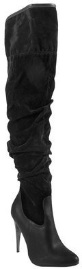 Journee Collection Woman Ruched knee Boots
