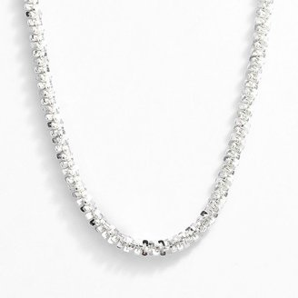 Margherita Silver 100 chain necklace - 18-in.