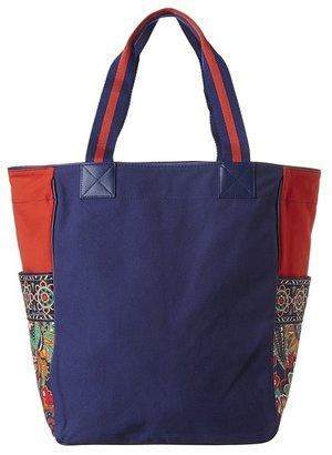 Vera Bradley Large Colorblock Tote (Venetian Paisley) - Bags and Luggage