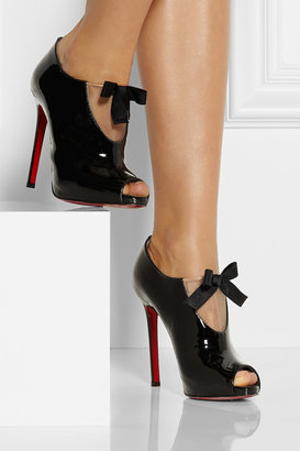 Christian Louboutin Estanodo 120 patent-leather ankle boots