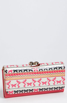 Ted Baker Patent Leather Print Wallet