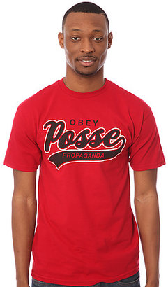 Obey The Posse Script 2 Basic Tee
