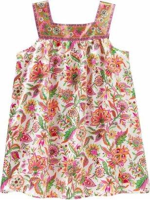Gap Vibrant floral tank dress